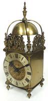Superb Vintage English 8 Day Lantern Clock - Lever Platform c.1950 Mantel Clock by Rotherham's (2 of 11)