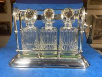 Edwardian Silver Plated Tantalus c.1905 (9 of 14)