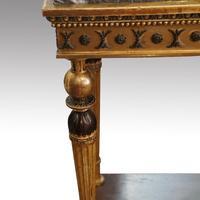 19th Century Swedish Gilt Console Table (6 of 10)