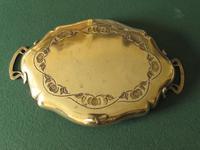 Art Nouveau Brass Tray (2 of 3)