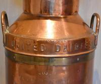 Large United Dairies Copper Milk Churn (7 of 7)