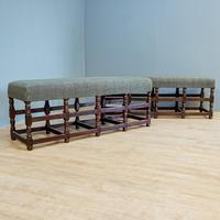 Pair of Oak Benches (3 of 7)