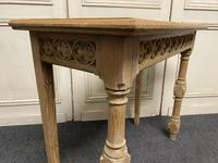 Pair of Bleached Oak Console Tables (7 of 16)