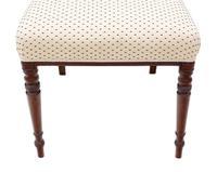 Set of 8 Georgian Mahogany Dining Chairs 19th Century c.1815 (8 of 9)