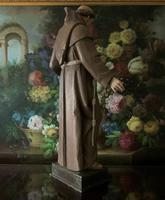 Bohumil Kafka RARE Carved Statue Sculpture St Anthony & Jesus (11 of 32)