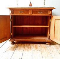 Antique Sideboard / Burr Walnut Sideboard / Walnut Cupboard (10 of 10)