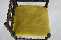 Arts & Crafts Bobbin Corner Chair (6 of 9)