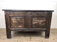 Small 18th Century Carved Oak Coffer (13 of 13)
