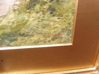 Watercolour Mill Cottage Reigate Listed Artist H Rawson (4 of 13)
