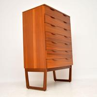 1960's Vintage Teak Chest of Drawers (4 of 10)