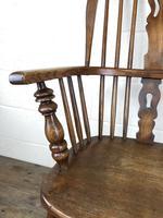 Late Victorian Ash & Elm Windsor Armchair (7 of 7)