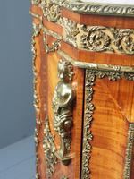 Antique Louis XVI Style Kingwood & Marble Cabinet (5 of 18)