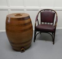 19th Century 20 Gallon Stoneware Whiskey Barrel (6 of 6)