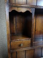Titchmarsh & Goodwin Oak Dresser & Rack (6 of 15)
