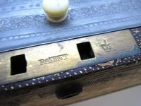 Rare Antique Chinese Lacquered Giltwood Large Tea Caddy Chest / Box / Casket with Pewter Liner c.1800 (14 of 16)