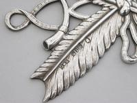 William IV Masonic Silver Secretary's Jewel by J Dixon & Sons, Sheffield, 1833 (4 of 7)
