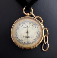 Antique pocket barometer, Darton and Co (10 of 12)