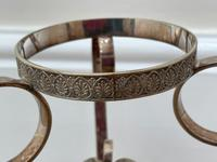 19th Century Victorian Silver Plate Sphinx Cut Glass Epergne Centrepiece Stand (21 of 28)
