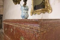 18th Century Gustavian Original Painted Commode - Red (3 of 15)