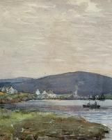 Andrew Gamley RSW - A Lochside Village Watercolour Painting (8 of 12)