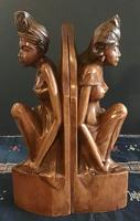 Pair of Large Hand Carved  Indonesian Bookends (10 of 12)