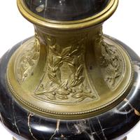 A Pair of Marble & Gilt Metal Urns (4 of 5)