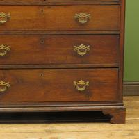 Antique Georgian Country House Oak Chest of Drawers (19 of 22)