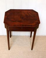 Regency Mahogany Work Table c.1820 (9 of 10)
