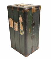 Vintage Steamer Trunk Luggage Case Harrison and  Co New York (9 of 28)