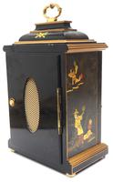 Good Caddy Top Mantel Clock – Chinoiserie Striking 8-day Mantle Clock by Elliot London (10 of 13)