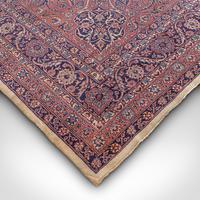 Very Large Antique Heriz Carpet, Persian, Room Size, Rug, Edwardian, Circa 1910 (5 of 12)