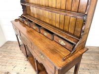 Antique Welsh Oak Pot Board Dresser (9 of 10)