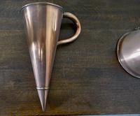 19th Century Copper Ale Muller & Wine Funnel Set (3 of 5)