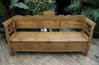 Fabulous Old (Victorian) Hungarian Box/ Storage/ Hall Bench (11 of 11)