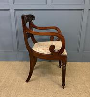 Excellent Pair of Regency Mahogany Scroll Armchairs (15 of 17)