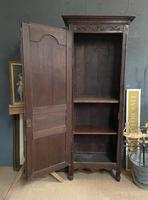 Lovely French Single Door Armoire or Hall Cupboard (5 of 7)