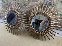 Pair of Spanish Gilt Brass Wall Mirrors (3 of 7)