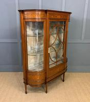 Maple & Co Inlaid Mahogany Display Cabinet (10 of 13)