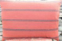 Swedish 'Folk Art' Vintage Large Woven Röllakan Cushion c.1930 (10 of 26)