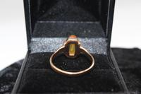 14ct Russian Gold Ring, size Q, weighing 2.5g (4 of 6)