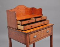 19th Century  Satinwood Ladies Writing Table in the Sheraton Style (8 of 15)
