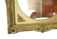 Gilt 19th Century Large Overmantle Wall Mirror (3 of 6)
