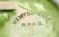 Robert Heron Scottish Wemyss Green Glazed Art Pottery Pig c.1900 (6 of 11)