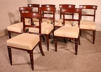 Set of 8 Mahogany Chairs Early 19th Century (2 of 10)