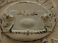 Antique Gustavian Style Window Chest Storage Seat with Carvings (4 of 13)