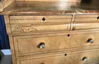Early Victorian Pine Chest of Drawers in Original Paint (7 of 17)