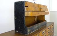 Vintage Black Painted Carpenters Tool Drawers (6 of 8)