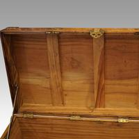 Large Victorian Camphor Wood Trunk (5 of 9)