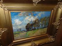 Rural Scene Oil on Board by W.B.Lamond (5 of 6)