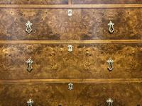 Superb Quality Walnut Chest of Drawers (9 of 18)